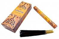 Аромапалочки RAJ SANDAL (шестигранник) Сандал