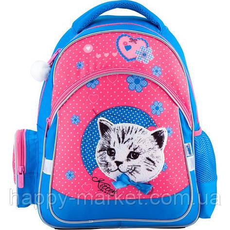 Рюкзак школьный K18-521S-2 Pretty kitten Б, фото 2