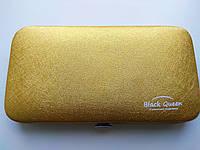 Кейс Black Queen на 4 пинцета, цвет Gold, фото 1