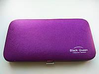 Кейс Black Queen на 4 пинцета, цвет Фиолетовый, фото 1