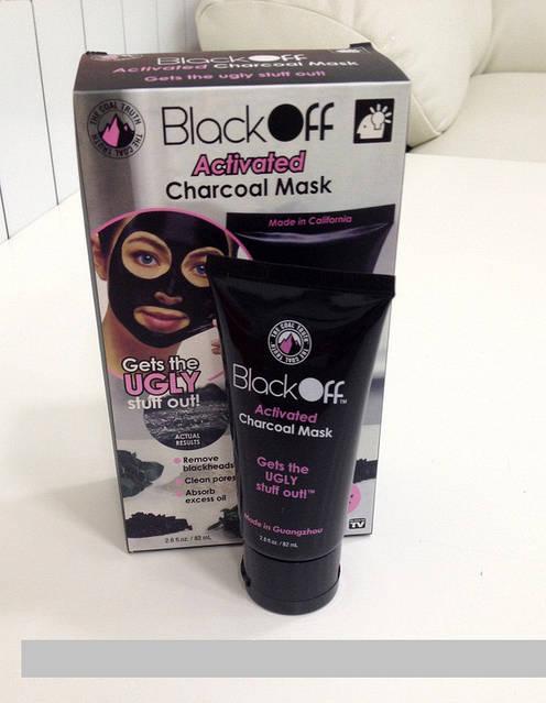 ЧеÑÐ½Ð°Ñ Ð¼Ð°Ñка-пленка ÐÐ»Ñ Ð»ÐÑа Black Off Activated Black Mask - Ð¿ÐлÐнÐ3 лÐÑа, ÑоÑо 4