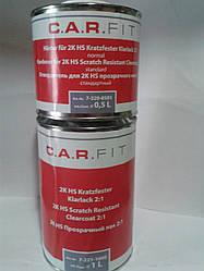 C.A.R.FIT 2К HS 2:1 Прозрачный лак 1л+0,5 л (комплект)