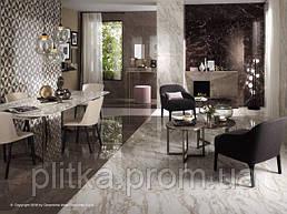 Роскошные современные проекты, вобравшие в себя богатую гамму плиток под мрамор и камень.