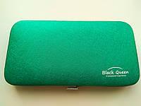 Кейс Black Queen на 4 пинцета, цвет Зеленый, фото 1