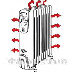 Масляный обогреватель Термия Н1330 (13 секций) 3 кВт, фото 3