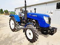 Трактор DW 244 AHTX, 24 л.с, 4х4, ГУР, Увеличенные колеса. Бесплатная доставка!, фото 1