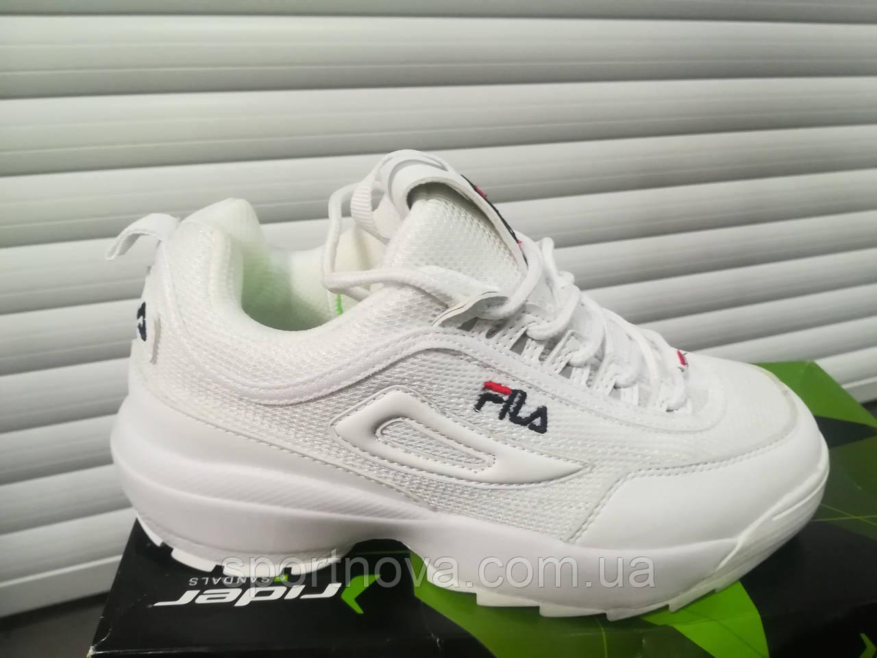 e8e552d9f2ec Кроссовки Fila Disruptor 2 White (лето) - Интернет-магазин спортивной обуви  и одежды