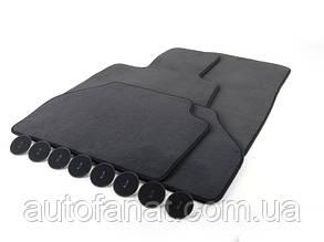 Оригинальный комплект черных велюровых ковриков салона для BMW X3 (F25), X4 (F26) (51477449443)