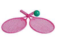 Набор ракеток Технок розовые (0380)