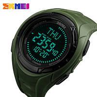 Часы Skmei 1314 Спортивные/Компас/Compass/ цвет хакки, фото 1