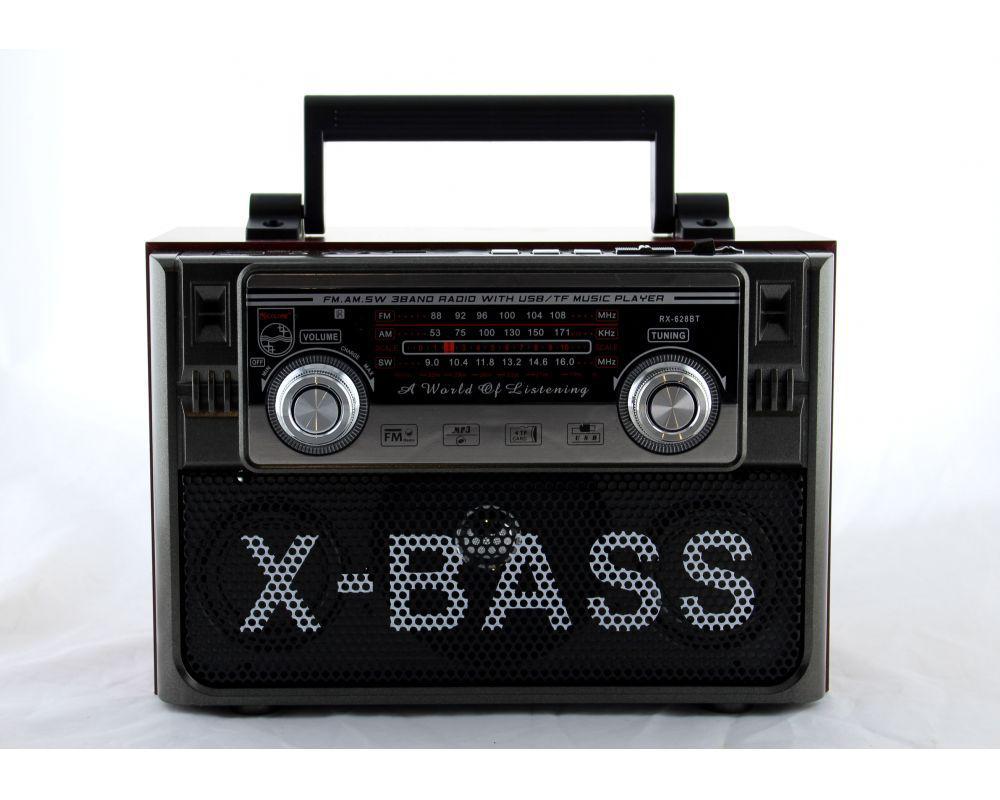 Радиоприемник всеволновой Golon RX-628BT ПДУ / USB / SD/ Bluetooth