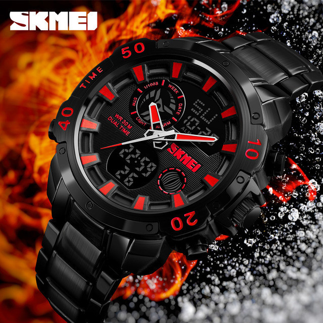 Часы Skmei 1306 с двойным механизмом