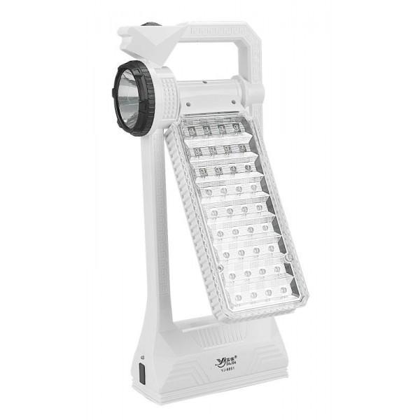 Настольная аккумуляторная лампа 36+1LED.