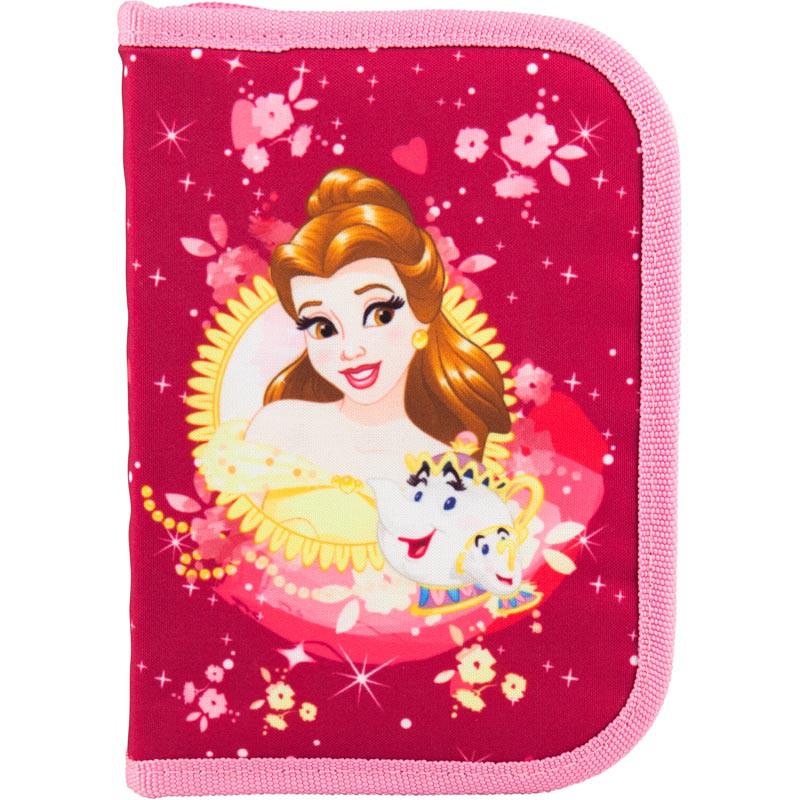 Пенал Princess 1отд.,2 отв.