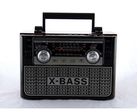 Радиоприемник Golon RX 638 BT портативная колонка bluetooth / USB /SD / MP3/ FM , фото 2
