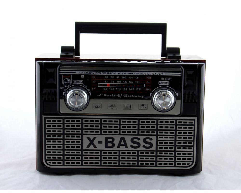 Радиоприемник всеволновой Golon RX-638BT ПДУ / USB / SD/ Bluetooth