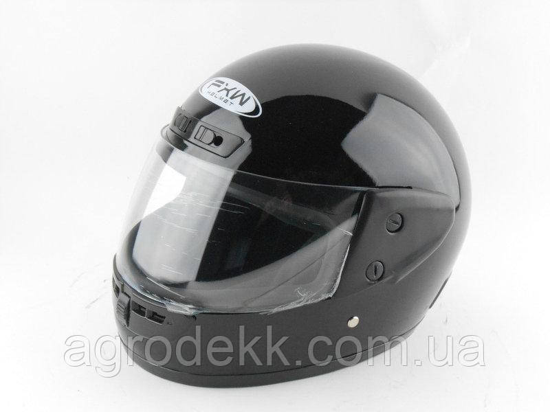 Шлем для мотоцикла Hel-Met 101 черный глянцевый