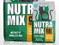 Nutra Mix Hairball корм для котов с шерсти выводящим эффектом 22,68кг