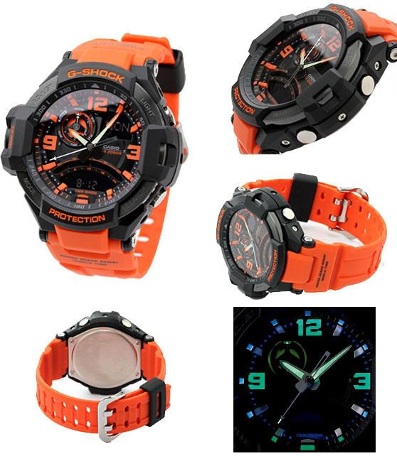 Оригинальные наручные часы Casio GA-1000-4AER