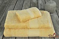 Бамбуковое махровое полотенце 50х100 MEVSIM LEMON
