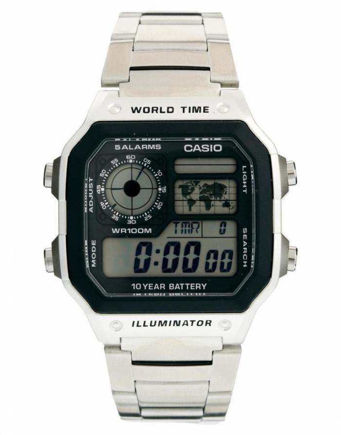 Часы наручные CASIO   AE-1200WHD-1AVEF