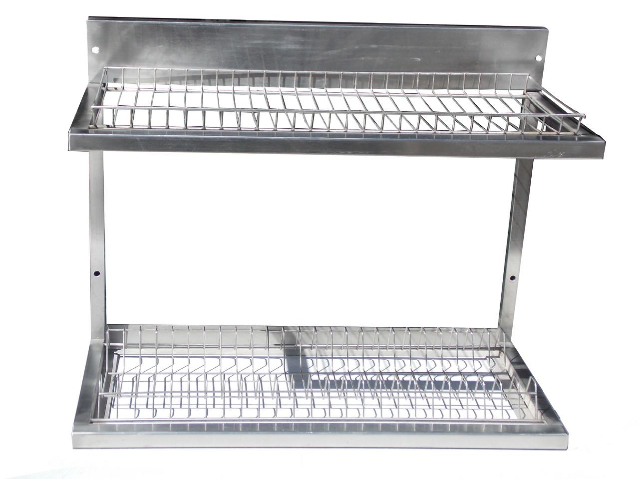 Полиця-сушка для посуду 600х325х510 ( пластиковий піддон)