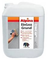 Акриловая грунтовка для наружных и внутренних работ Alpina EINLASSGRUND 10 л