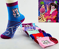 Подростковые махровые носочки на девочку Liliya D224 Z. В упаковке 12 пар, фото 1