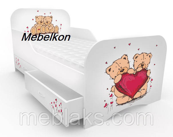 """Кровать детская """"Мишки"""" Mebelkon"""
