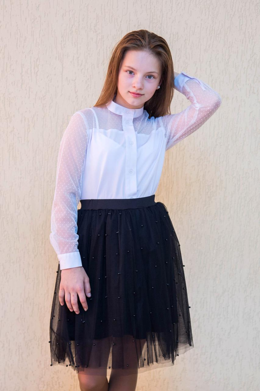 Шкільна сорочка для дівчинки