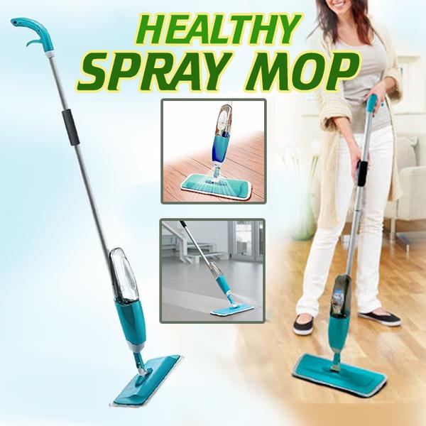 Универсальная швабра с распылителем healthy spray mop УМНАЯ ШВАБРА 3 В 1 спрей моп