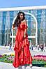 Женское пышное платье в пол, в расцветках. А-5-0618, фото 5