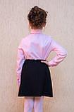 Шкільна сорочка з намистинами, фото 3