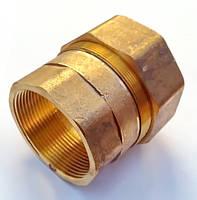 Затискна латунна муфта Ду50мм, фото 1