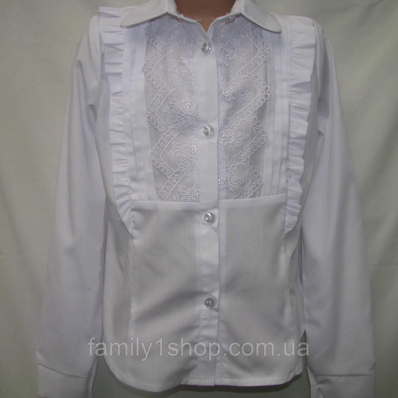 4d158f79ab9 Школьная белая блузка для девочки.  продажа