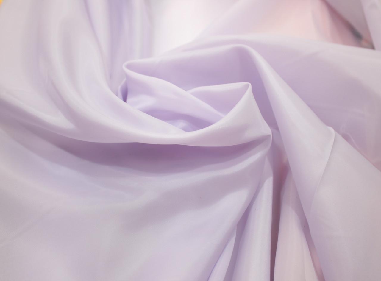 Подкладочная ткань нейлон светло-сиреневый (Италия)