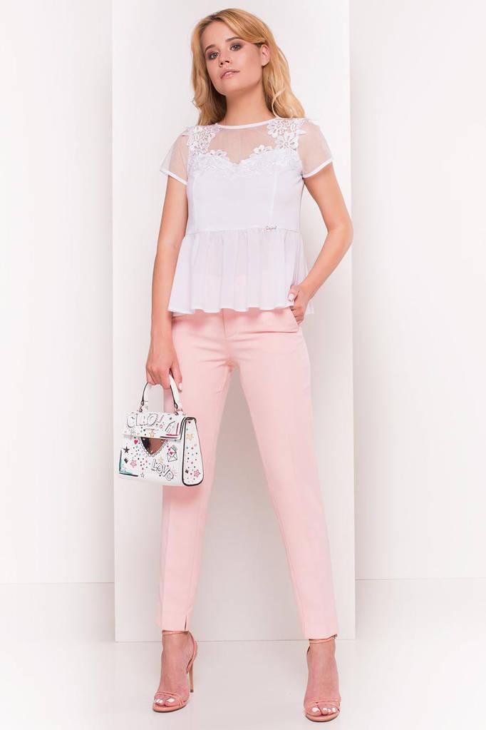 Летняя блуза женская, цвет: Белый, размер: S, L, M