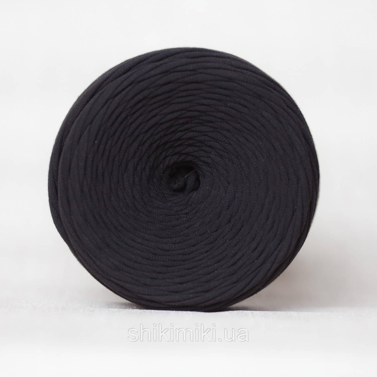 Трикотажная пряжа (Mini),цвет Черный