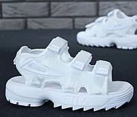 "Сандалии женские Fila Disruptor Sandals ""White"""