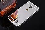 Алюміній дзеркальний чохол для LeEco Le S3 / Le 2 / Le 2 Pro / Є скла /, фото 3