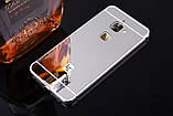 Алюминий зеркальный чехол для LeEco Le S3 / Le 2 / Le 2 Pro / Есть стекла /, фото 3