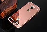 Алюминий зеркальный чехол для LeEco Le S3 / Le 2 / Le 2 Pro / Есть стекла /, фото 4