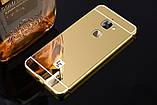 Алюминий зеркальный чехол для LeEco Le S3 / Le 2 / Le 2 Pro / Есть стекла /, фото 5