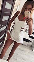Комбинезон женский летний шортами  аф06