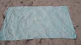 Полотенце пляжное Madagascar 100х180 ментоловый SoundSleep, фото 4