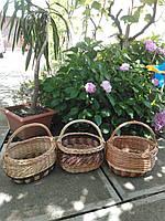 Плетені кошики з лози, фото 1
