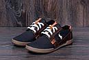 Мужские кожаные летние кроссовки, перфорация Polo black, фото 7