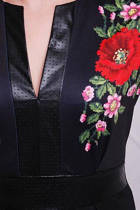 GLEM Маки платье Лусена-Б д/р, фото 2