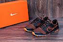 Мужские летние кроссовки сетка Nike NM orang, фото 8