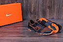 Мужские летние кроссовки сетка Nike NM orang, фото 9